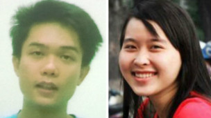 Nguyen Kha and Phuong Uyen, two student activists who were sentenced May 16, 2013, to 8 and 6 years of imprisonment for distributing leaflets calling for demonstrations against China. Phuong Uyen has been released, but Nguyen Kha remains in prison.