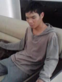 Quoc Anh after being beaten.