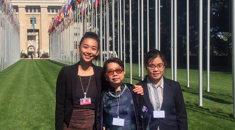 VOICE delegation UPR midterm 2017
