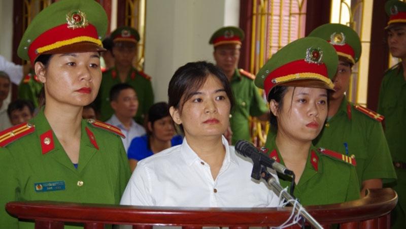 Tran Thi Nga at trial July 2017