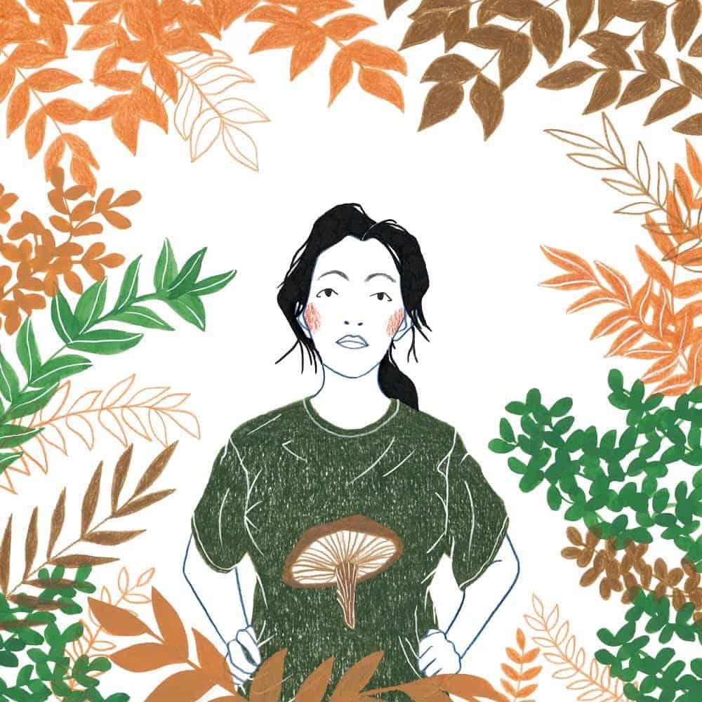 Mother Mushroom illustration