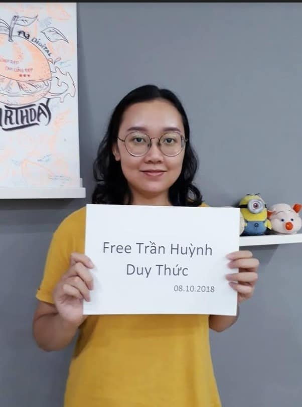 Tram Tran_Letter on Tran Huynh Duy Thuc_11.29.18