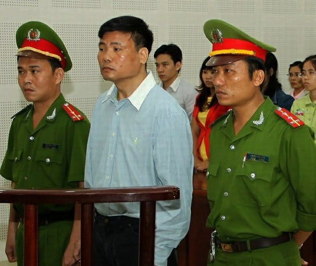 Truong Duy Nhat Trial 2017_Source AFP Vietnam News Agency
